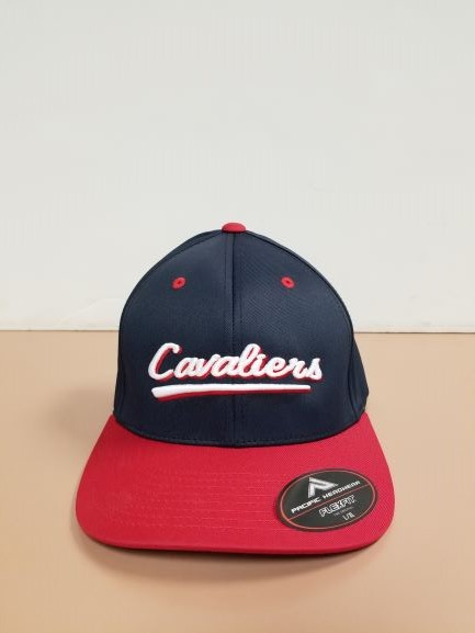 Image For HAT, PERF, NAVY/RED