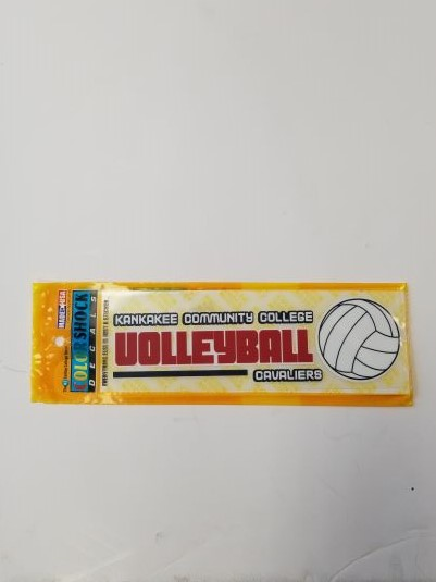 Cover Image For DECAL, KCC VOLLEYBALL