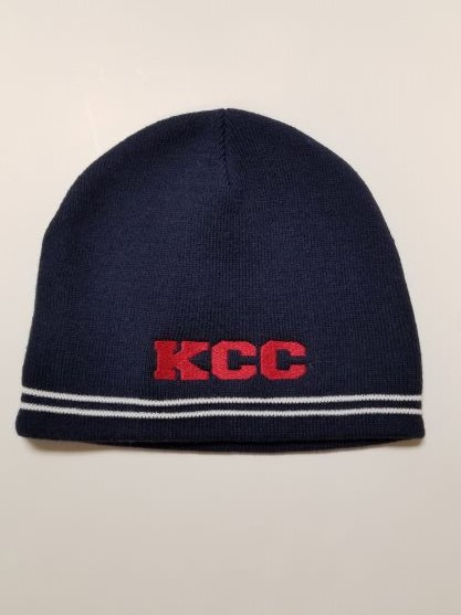 Image For BEANIES, KCC NAVY/WHITE