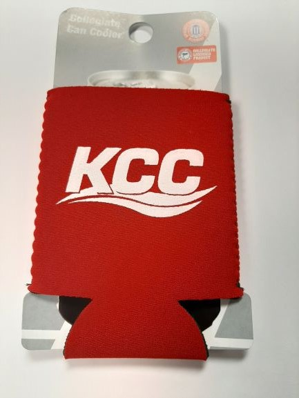 Cover Image For CAN COOLER, NEOPRENE KCC, RED