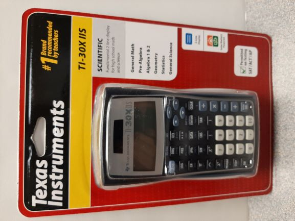 Image For CALCULATOR, TI30XIIS,